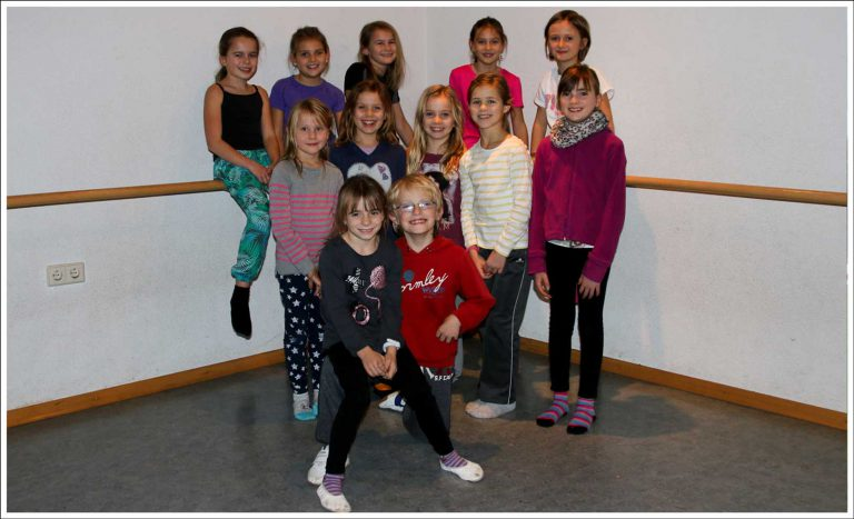 Tanzgruppe Kids Attack