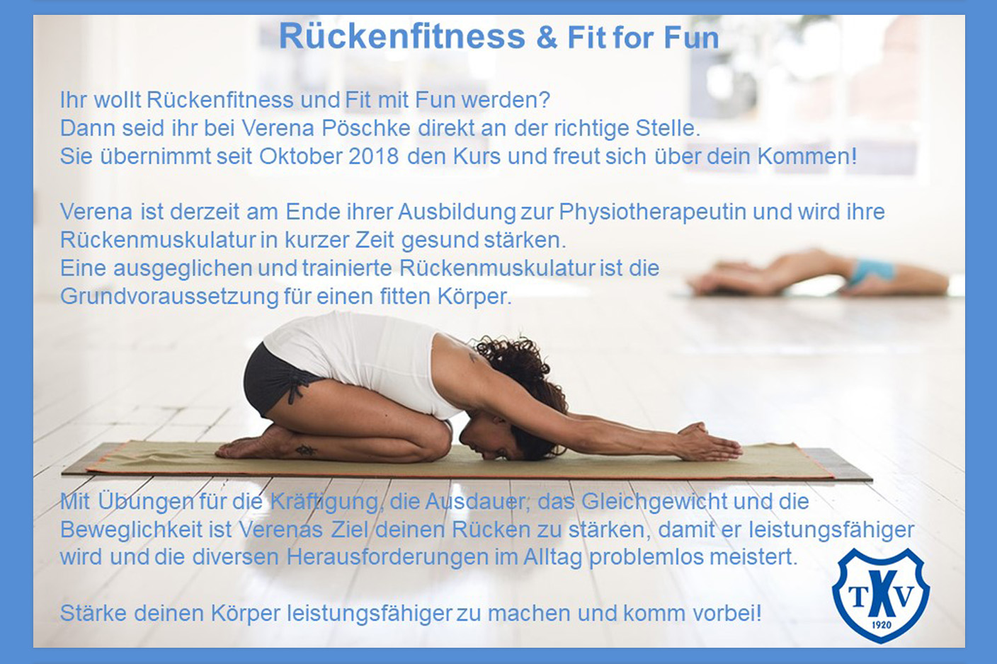Rückenfitness & Fit for Fun