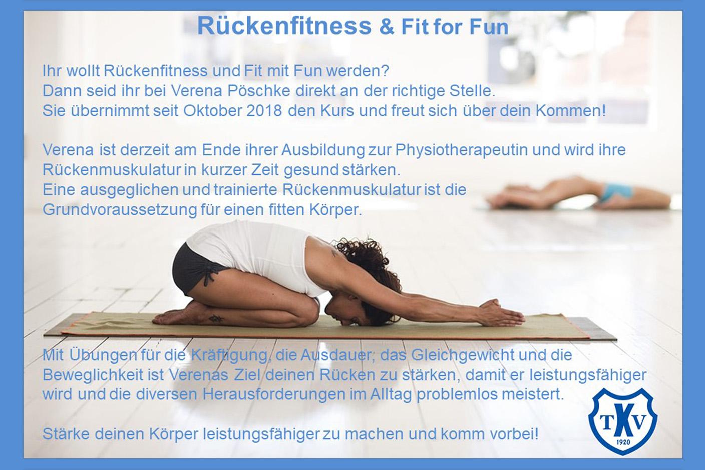 Rückenfitness & Fit for Fun